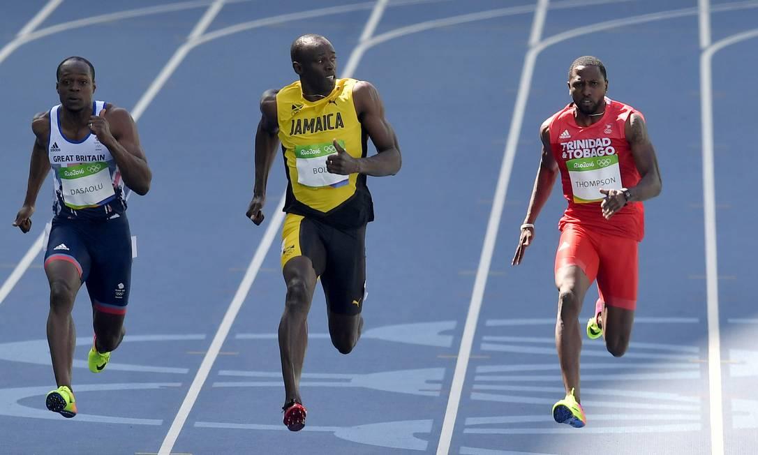 No Rio, Bolt tenta o tricampeonato em três provas: nos 100m, nos 200m e no revezamento 4x100m Martin Meissner / AP