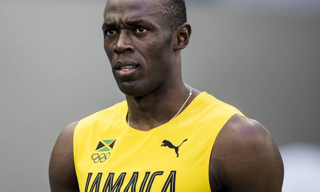 Com tranquilidade, o jamaicano passou para semifinais controlando o ritmo Adriano Vizoni / Folhapress/NOPP