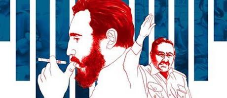 Arte Especial Fidel Foto: O GLOBO