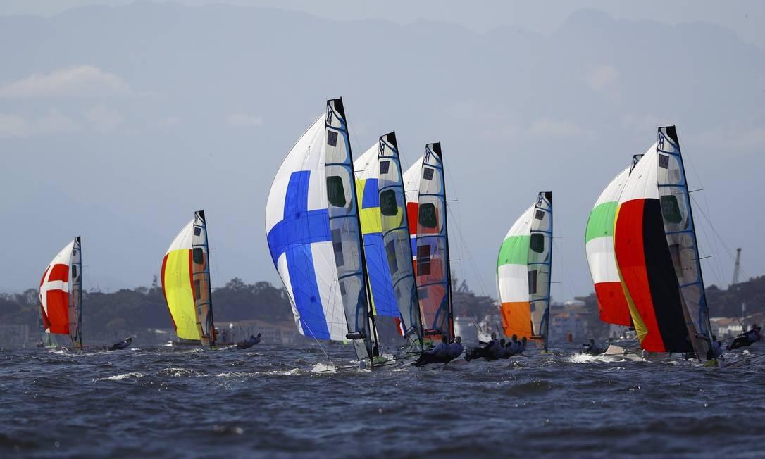 Mais três regatas serão realizadas na próxima segunda-feira BRIAN SNYDER / REUTERS