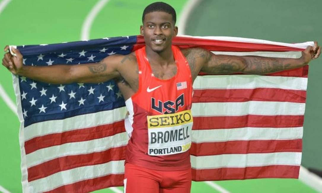 Os Estados Unidos não conquistam o ouro nos 100m desde Atenas. Bromell espera repetir vitória de Justin Gaitlin Wikimedia Commons