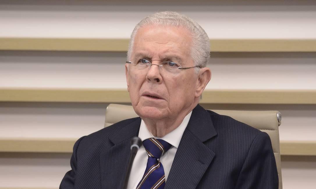 Sydney Sanches, ex-ministro do STF, diz que a procuradora-geral tem que provocar o plenário sobre o caso Foto: Helcio Nagamine / Divulgação - Fiesp - 27/10/2014