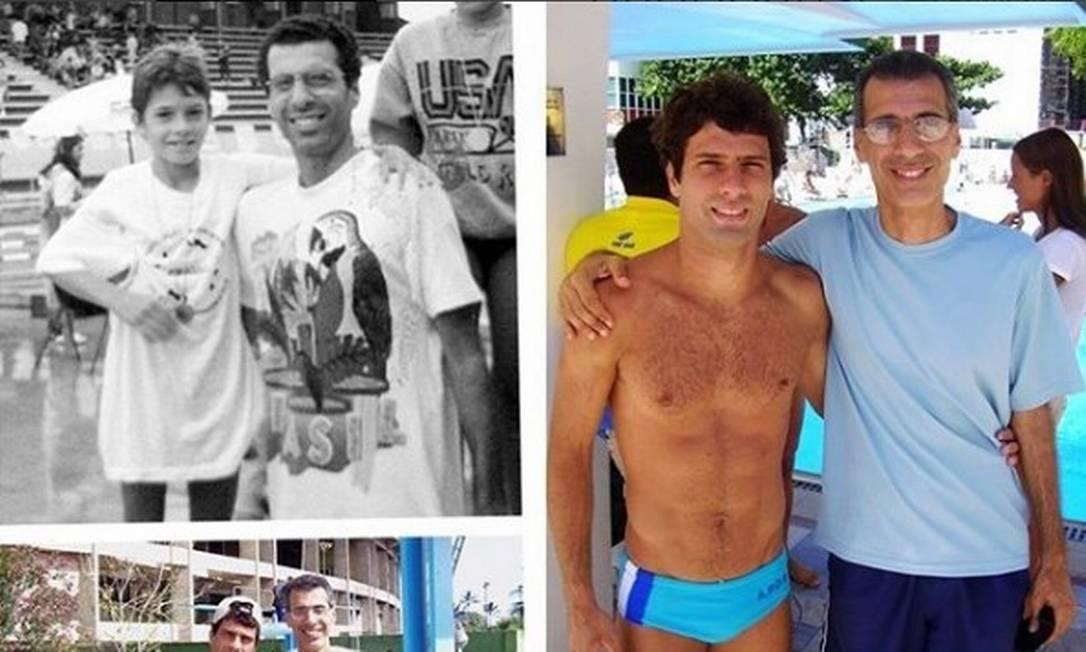 Hugo Parisi homegeia seu pai em seu perfil no Instagram Reprodução/Instagram
