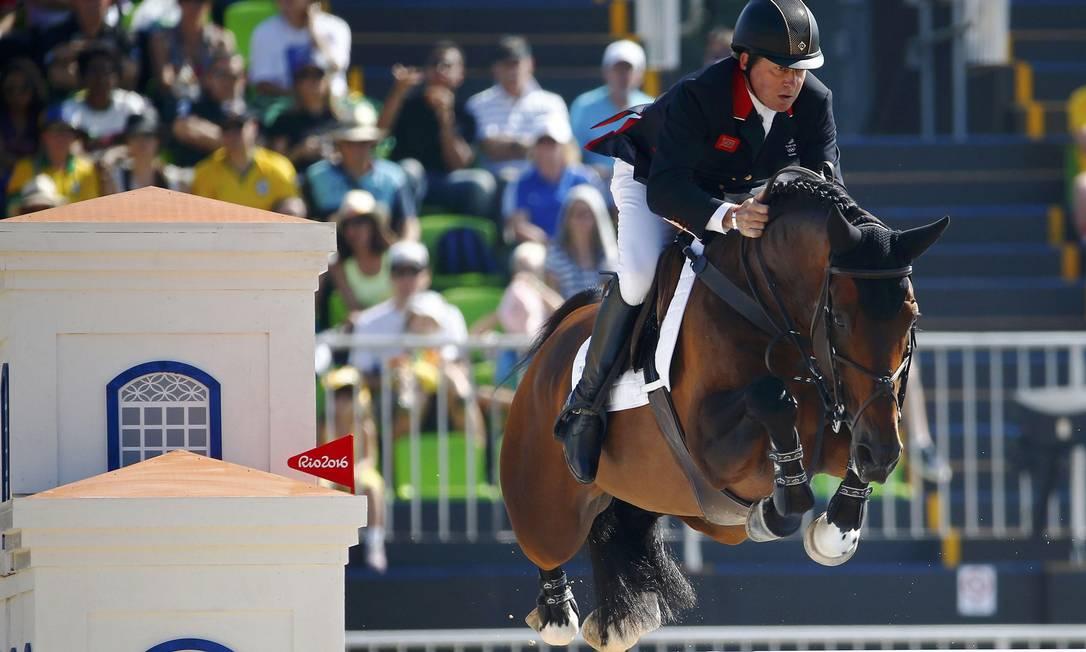 Nick Skelton, da Grã-bretanha, na Olimpíada do Rio TONY GENTILE/REUTERS