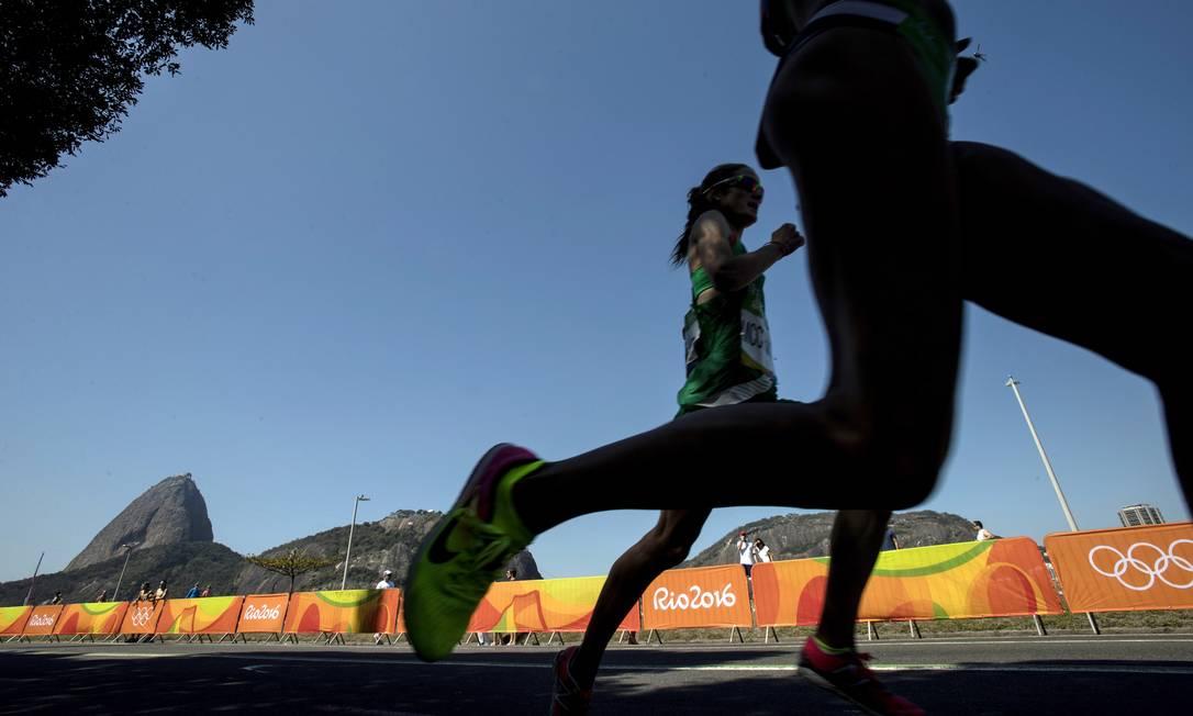 A maratona feminina percorreu o Aterro do Flamengo Alexandre Cassiano / O Globo / NOPP