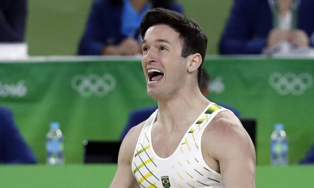 Presente em três Olimpíadas, Diego nunca havia conquistado uma medalha olímpica Rebecca Blackwell / AP
