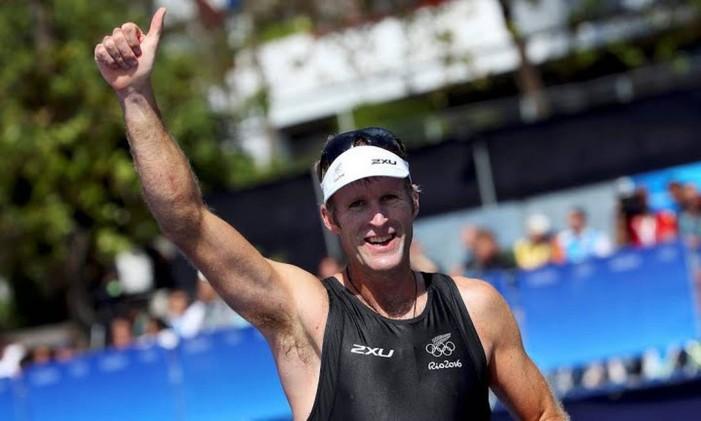 O nadador Mahé Drysdale é bicampeão olímpico do skiff simples Foto: Divulgação / COI