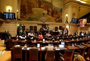 Câmara dos vereadores do Rio de Janeiro Foto: Rafael Moraes/ Extra