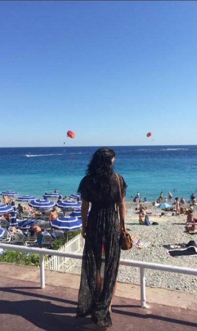 A linda Yanna na Côte D'Azur Instagram