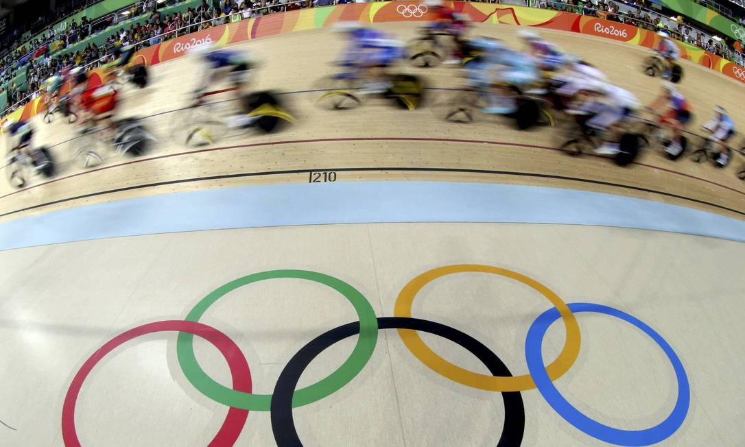 Rio-2016 abriu os trabalhos no ciclismo de pista na última quinta-feira ERIC GAILLARD / REUTERS