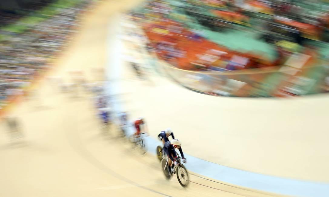 Até esta terça-feira, atletas competem para ver quem é o mais veloz e o mais resistente MATTHEW CHILDS / REUTERS