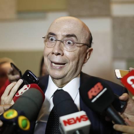 Henrique Meirelles, ministro da Fazenda Foto: Edilson Dantas / Agência O Globo