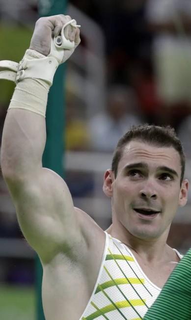 Arthur Zanetti foi medalha de ouro em Londres-2012 Rebecca Blackwell / AP