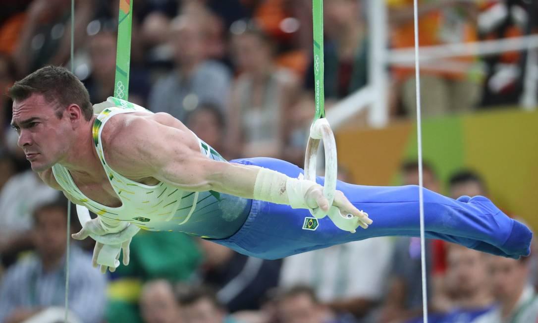 O ginasta foi campeão mundial em 2013, e prata em 2011 e 2014 Marcelo Carnaval / Agência O Globo