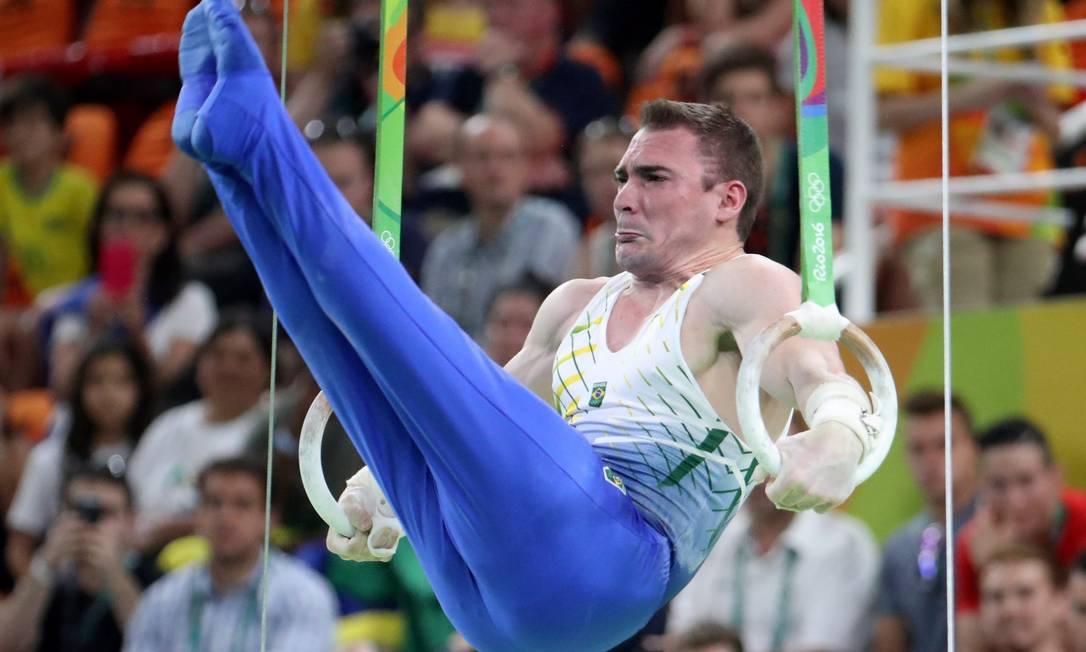 Zanetti tem ainda três medalhas de ouros em jogos Sul-Americanos Marcelo Carnaval / Agência O Globo