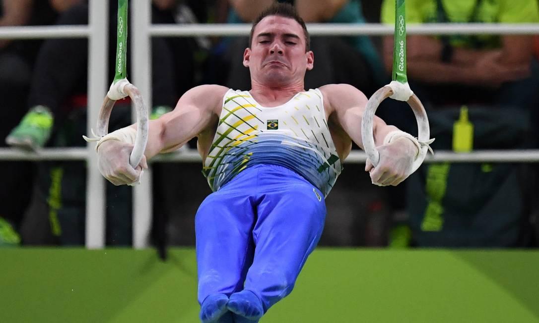 Arthur Zanetti conquistou a medalha de prata nas argolas André Durão / Globoesporte.com/NOPP