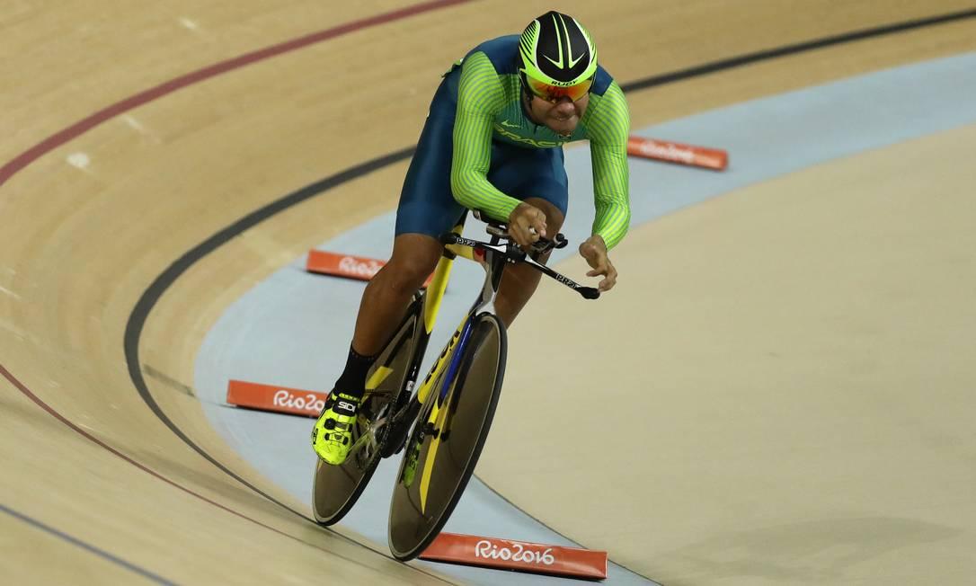 O brasileiro Gideoni Monteiro terminou a prova em 13º Robert F. Bukaty / AP