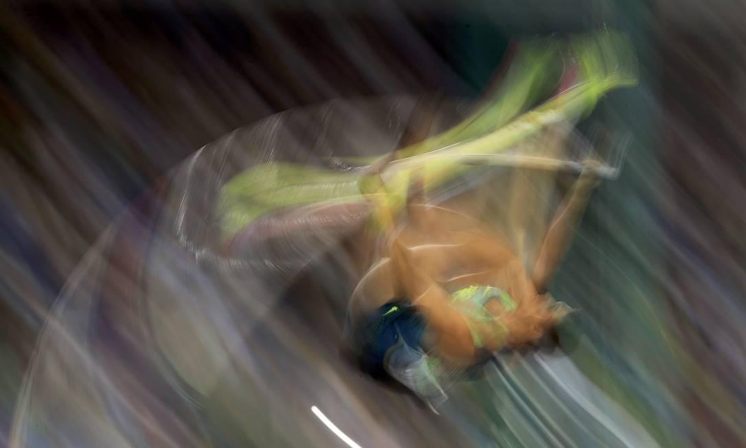 Thiago Braz conquistou ouro inédito para o Brasil no salto com vara Foto: DOMINIC EBENBICHLER / REUTERS