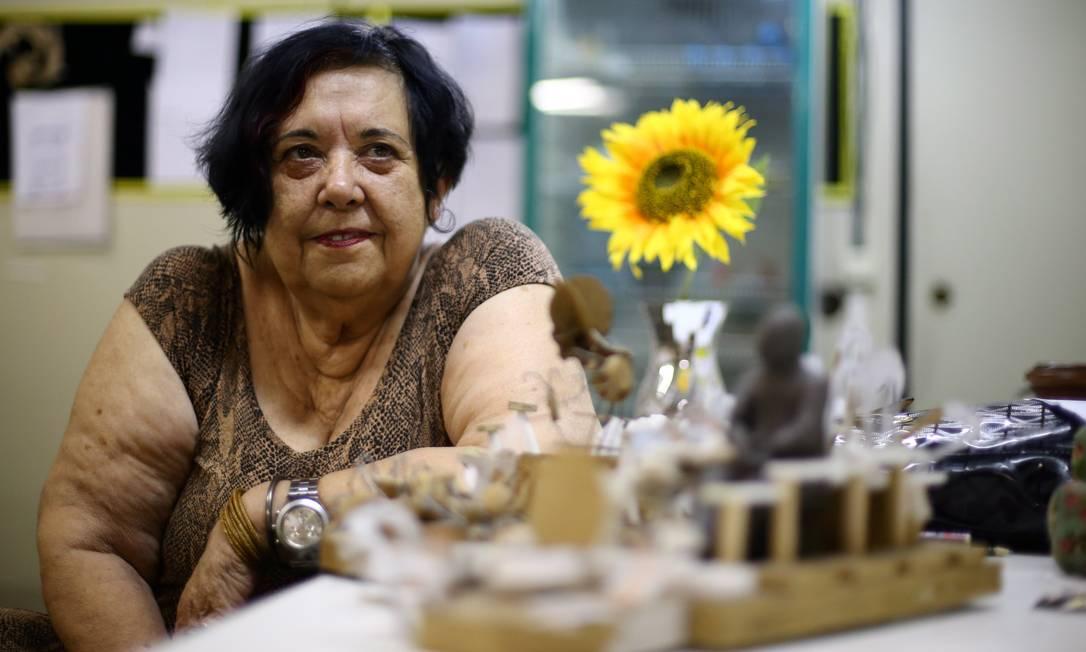 A carnavalesca Rosa Magalhães Foto: Urbano Erbiste - 02/02/2015 / Agência O Globo