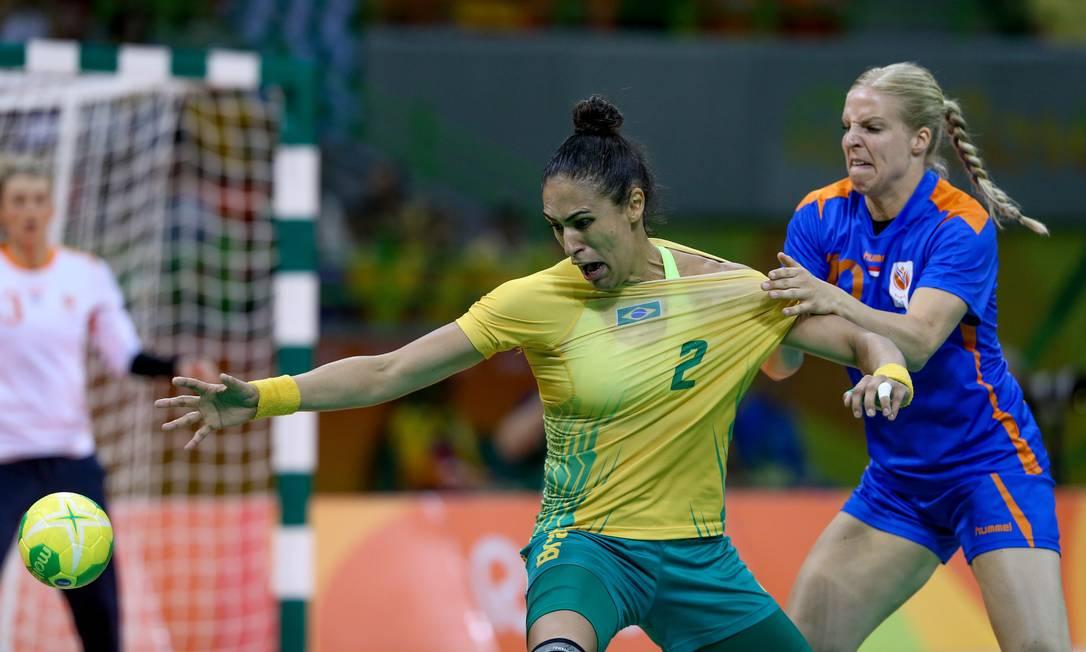 O Brasil enfrentou a Holanda na Arena do Futuro Pedro Kirilos / Agência O Globo