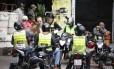 Osorio em campanha na Rocinha