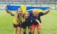 Suecas comemoram: Final!! Mal posso acreditar