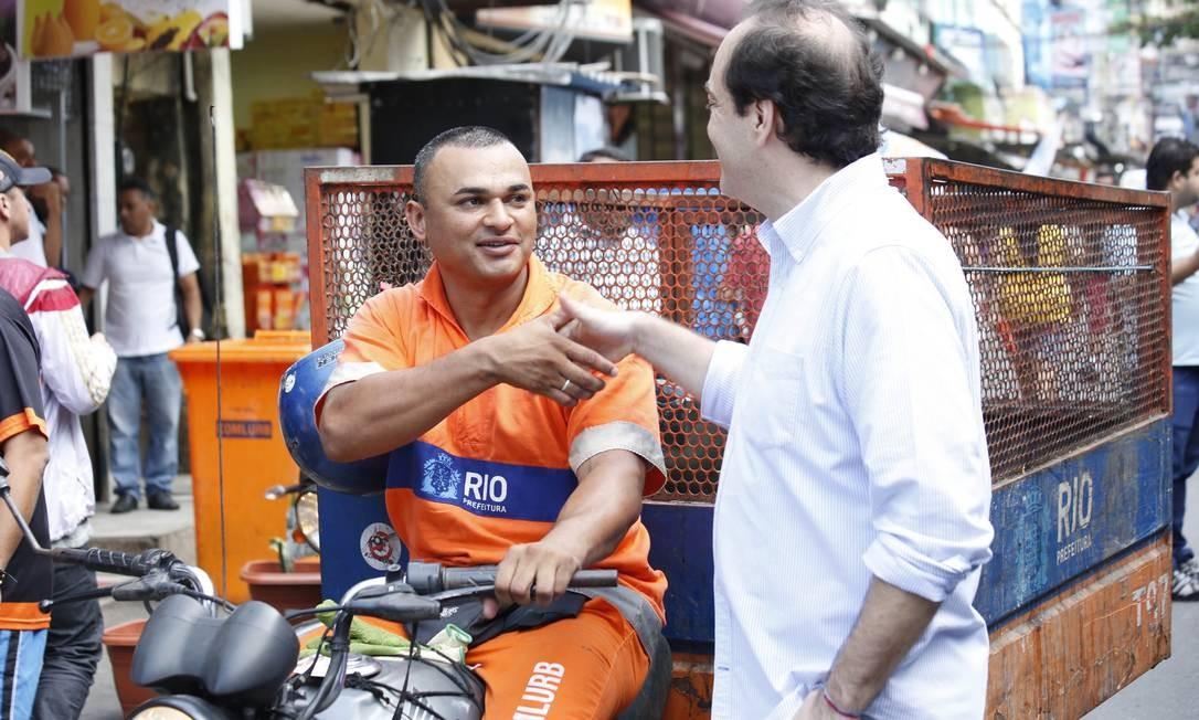 E criticou o prefeito do Rio Eduardo Paes (PMDB) por piorar as contas da prefeitura Foto: Divulgação / Divulgação