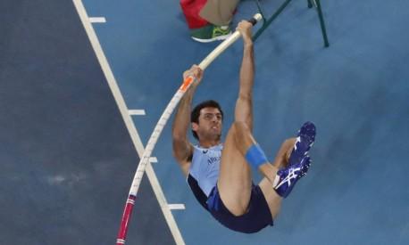 O argentino German Chiaraviglio conquistou vaga na final pela primeira vez na história do país Foto: Morry Gash / AP