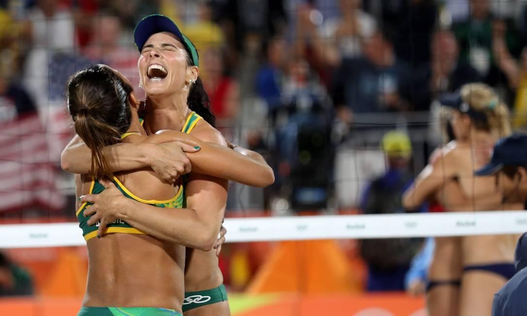 Emoção: brasileiras vão para a disputa pelo ouro olímpico Marcelo Carnaval / Agência O Globo