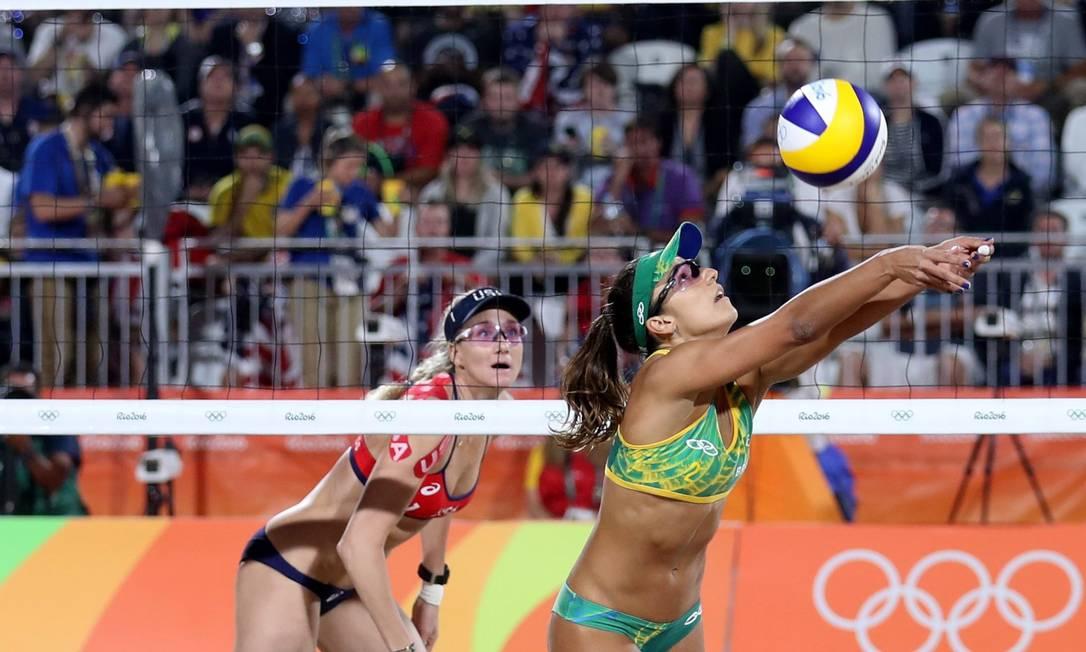 Jogo foi equilibrado, com longos e emocionantes rallies Marcelo Carnaval / Agência O Globo