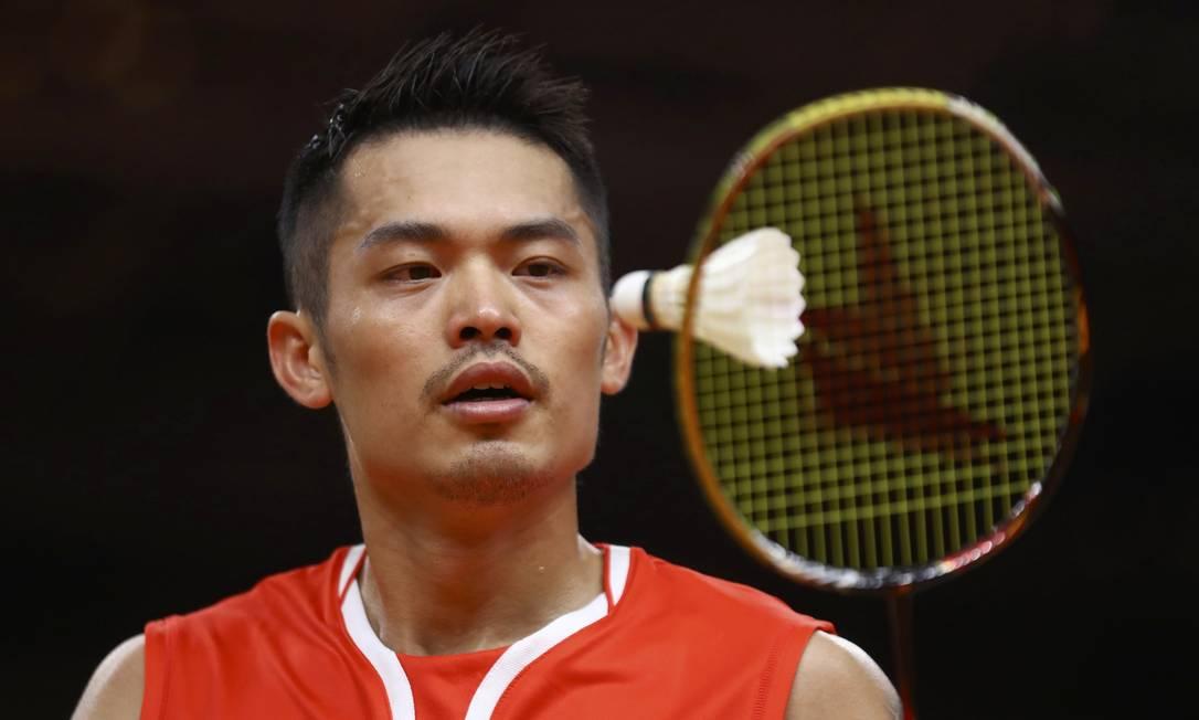Lin venceu a partida por dois sets a um MIKE BLAKE / REUTERS