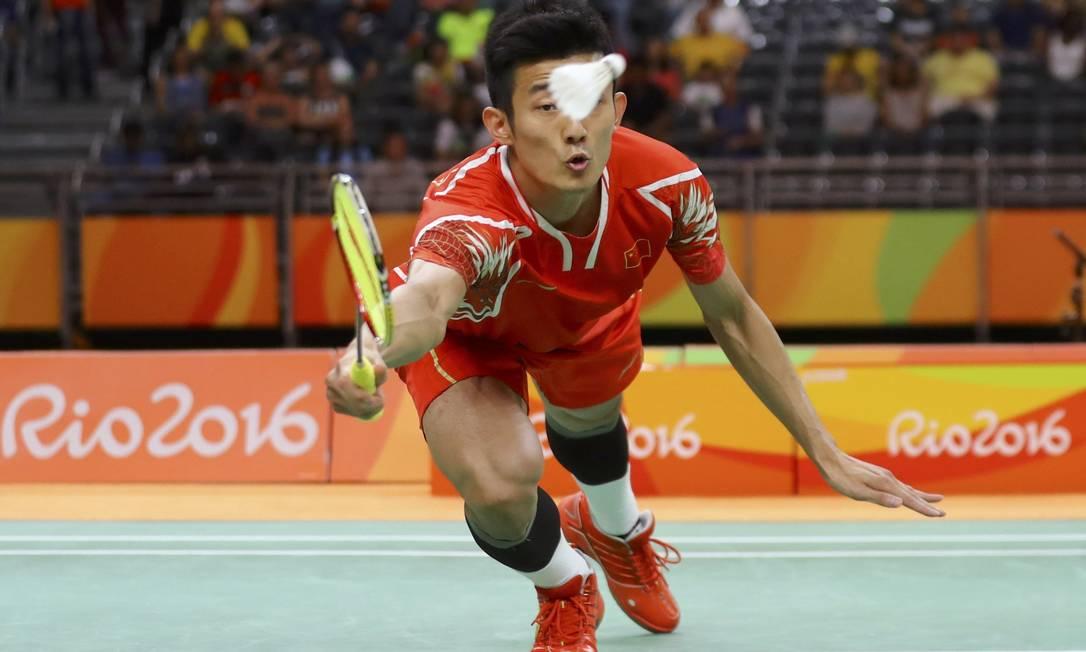 Lin passou para a semifinal MIKE BLAKE / REUTERS