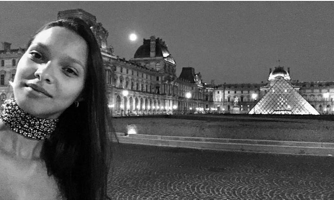 Laís em Paris Reprodução/ Instagram