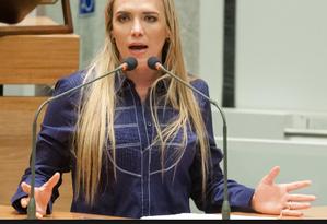 A presidente da Câmara Legislativa do DF, Celina Leão (PPS) Foto: Divulgação