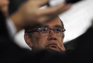 O presidente do TSE, ministro Gilmar Mendes Foto: Givaldo Barbosa / Agência O Globo
