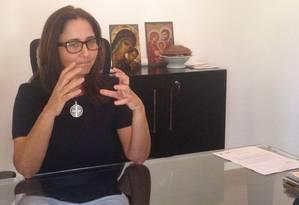 A deputada distrital Liliane Roriz (PTB) Foto: Renata Mariz / Agência O Globo