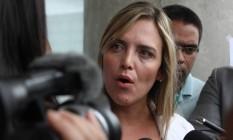 A deputada Distrital Celina Leão Foto: Givaldo Barbosa / Agência O Globo