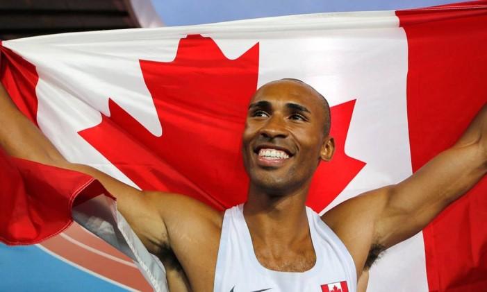 O pentatleta canadense Damian Warner Foto: Divulgação / Comitê Olímpico do Canadá