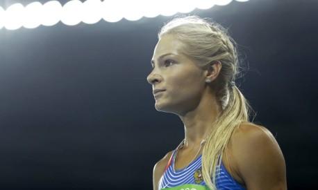 Após o escândalo de dopping no atletismo russo, Darya Klishina foi a única atleta da Rússia a conseguir disputar a Olimpíada Foto: Matt Dunham / AP