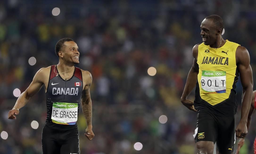 Um momento de respeito e admiração entre rivais David J. Phillip / AP