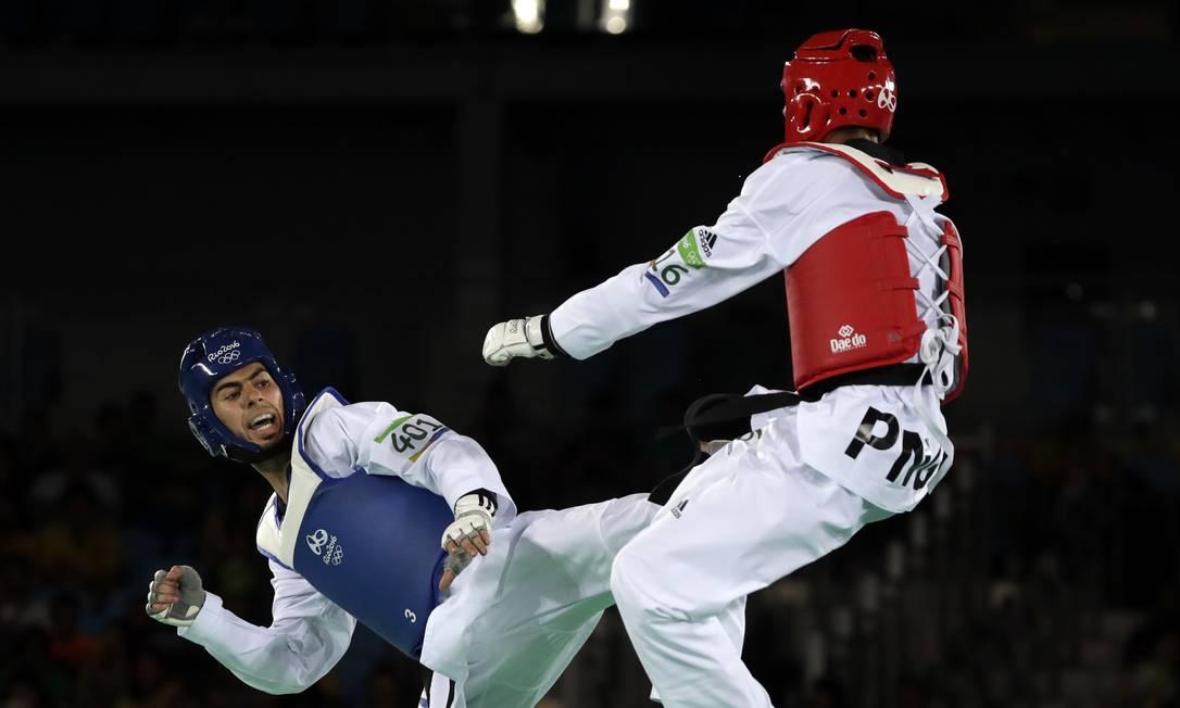 O belga não teve dificuldade para vencer Maxemillion Kassman, da Papua Nova Guiné Andrew Medichini / AP