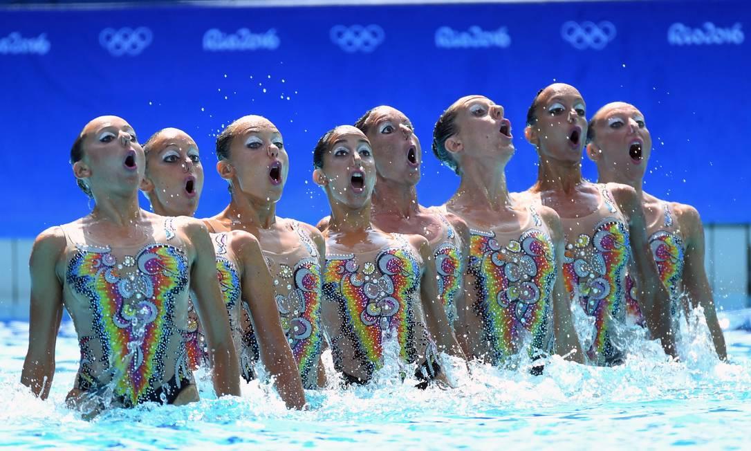 Atletas da Itália durante a final André Durão / Globoesporte.com / NOPP