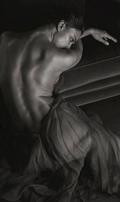 """Mais de Irina na """"GQ"""" italiana Reprodução/"""