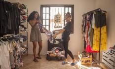 Novo de novo. Desirée Brito e Marcelle Ferreira fazem arte e rapaginam tudo Foto: Agência O Globo