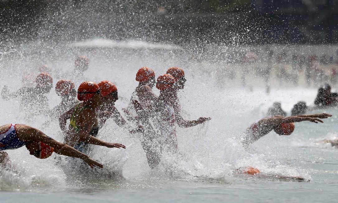 Prova acontece neste sábado em Copacabana Carlos Barria / Reuters