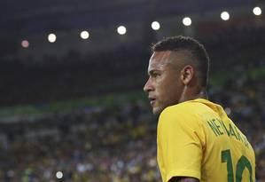 Neymar no Maracanã: Brasil x Alemanha em final dramática Foto: BRUNO KELLY / REUTERS