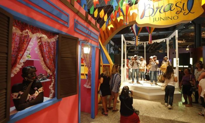 Casa Brasil: um passeio pelas festas e tradições do país Foto: Agência O Globo