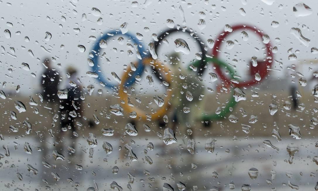 Símbolo da Olimpíada, que atraiu moradores e turitas durante os 17 dias de competições, foi pouco visitado no último dia Márcia Foletto / Agência O Globo