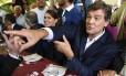 Arnaud Montebourg participa de evento político em que anunciou sua candidatura presidencial para 2017
