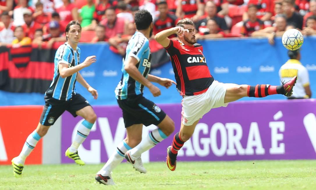 Felipe Vizeu entrou no segundo tempo, no lugar de Leandro Damião Ailton de Freitas / Agência O Globo